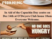 coffee morning in aid of the capuchin day centre for homeless people 14dec19