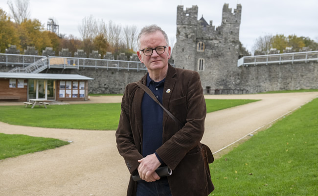 Artist John Byrne is looking for volunteers to take part in his next project which will be installed in Swords 27jan20