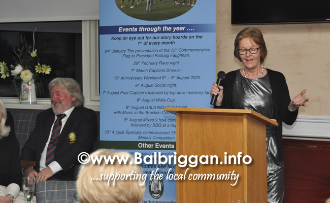 Balbriggan Golf Club 75th Anniversary Launch night 24-Jan-20_7