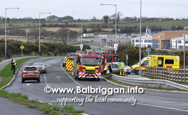 emergency services deal with accident in balbriggan 18jan20