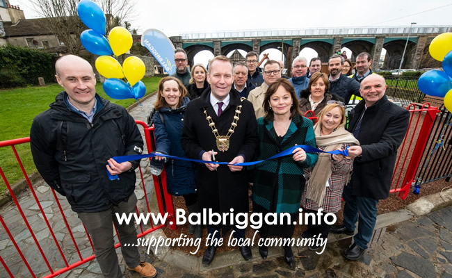 Fingal County Council opens two new playgrounds in Balbriggan feb20