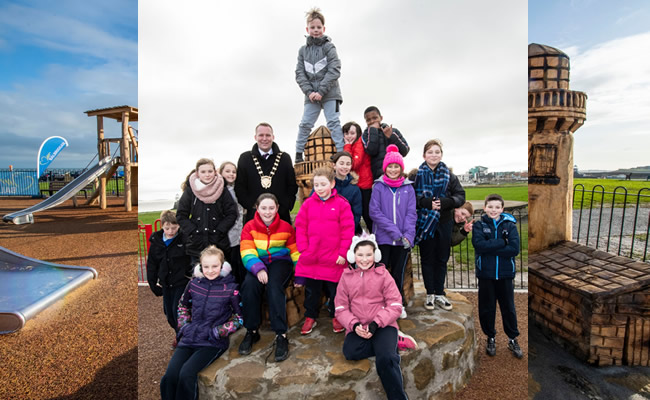 Fingal County Council opens two new playgrounds in Balbriggan feb20_3
