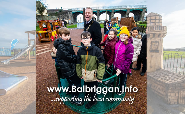 Fingal County Council opens two new playgrounds in Balbriggan feb20_5