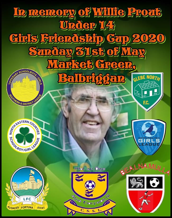 willie prout friendship cup glebel north fc 31may20