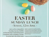 Bracken court hotel easter lunch 2020