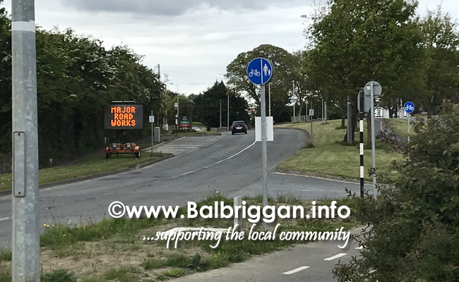 roadworks r132 balbriggan 19may20