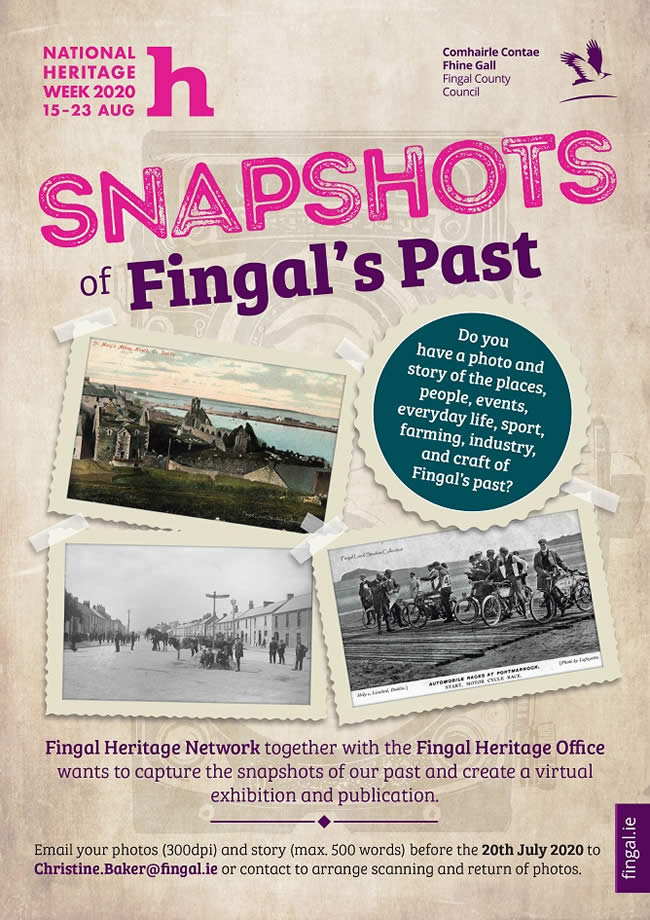 Fingal CC Heritage Week A2 Poster