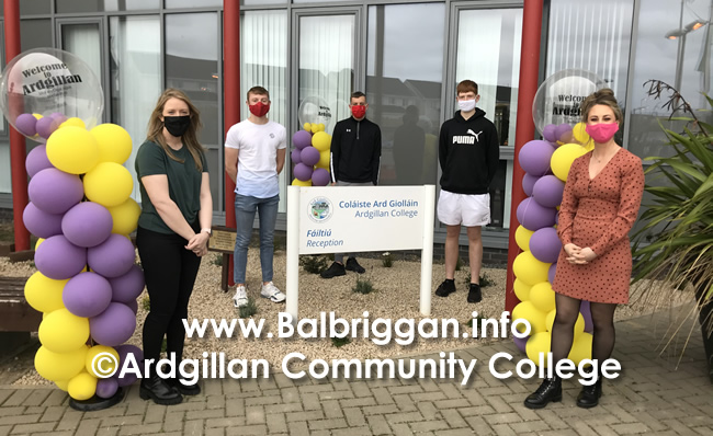 Ardgillan Community College Leaving Certificate Results Class of 2020