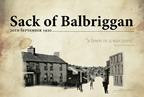 Sack of Balbriggan Exhibition Panel smaller