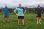 Rory Darragh and Kevin run marathon for Balbriggan cancer support group oct20 smaller