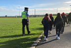 Loreto Students join Balbriggan Gardai in Stepping out of Lockdown Challenge 02dec20_smaller
