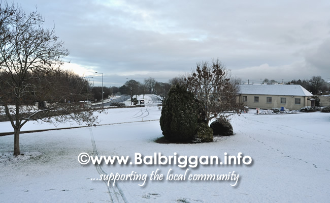 snow in Balbriggan 24-Jan-21