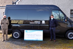 Balbriggan meals on wheels take delivery of new minibus 26mar21 smaller