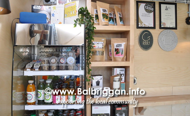 java the hut new container coffee shop at Balbriggan Train Station 3