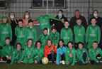 U11 Glebe North team presented with their new kit may21 smaller