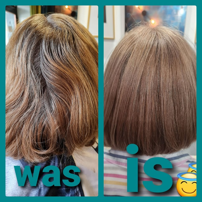 the 6 hair station balbriggan before and after 2